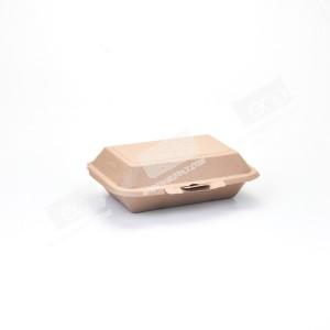 กล่องกระดาษเฟสท์เดลี่ สีน้ำตาล-600 ml