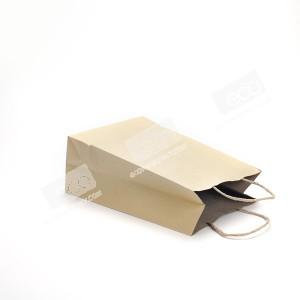 ถุงกระดาษคราฟท์ หูหิ้ว J3