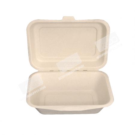 กล่องชานอ้อย/เยื่อไผ่-450 ml