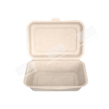 กล่องชานอ้อย/เยื่อไผ่-600 ml